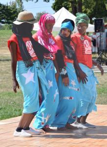 Somali Dancers at 2015 Festival